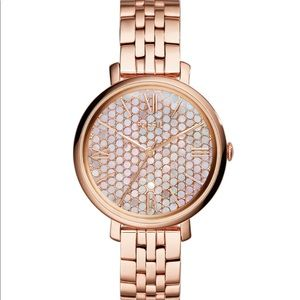 Fossil Rose Gold Jacqueline Watch